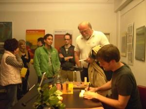 Lesung Langen 6.9.2007